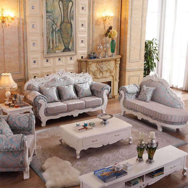 欧式沙发贵妃,1.2.3孔雀蓝9